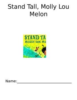 Molly Lou Melon Activity/Center