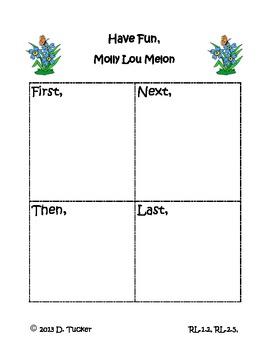 Molly Lou Melon Sequencing