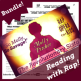 Women of the Revolutionary War: Molly Pitcher Reading Activities with Rap Song