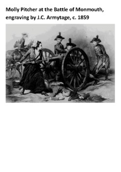Molly Pitcher Handout