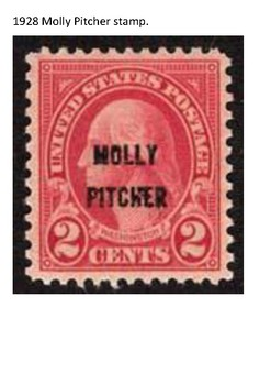 Molly Pitcher Word Search
