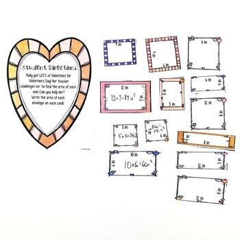 Area February Math Center