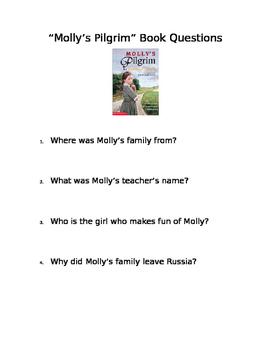 Molly's Pilgrim Book Questions
