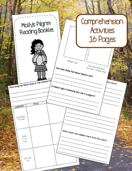 Molly's Pilgrim Book Study Pack - Common Core Aligned