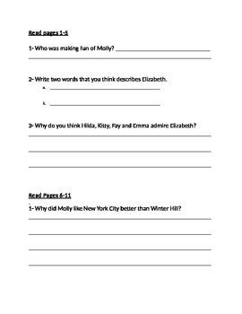 Molly's Pilgrim Questions