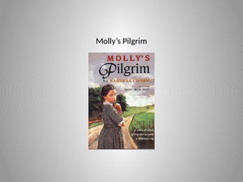 Molly's Pilgrim Vocabulary Words