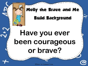 Molly the Brave and Me ~ 2nd Grade Open Court Resource