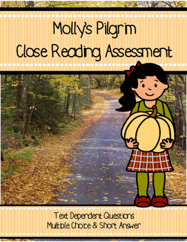 Molly's Pilgrim Close Reading Assessment