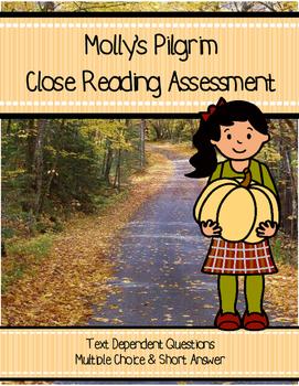 Molly's Pilgrim Close Reading Assessment