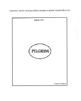 Molly's Pilgrim Lapbook & Activities