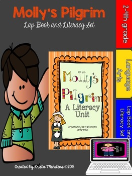 Molly's Pilgrim Literacy Unit with Lapbook aligned to the Common Core