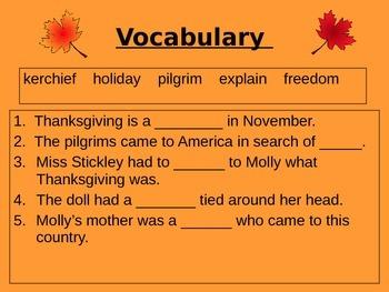 Molly's Pilgrim Shared Reading Lesson