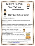 Molly's Pilgrim Text Talkers - Text Dependent Questions