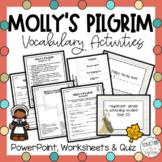 Molly's Pilgrim Vocabulary Powerpoint