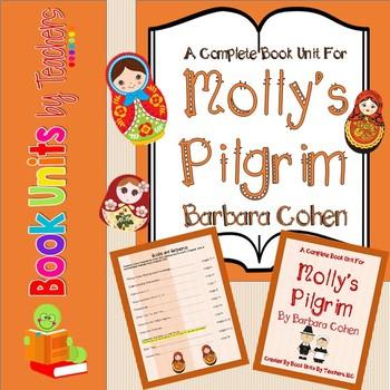 Molly's Pilgrim by Barbara Cohen Book Unit