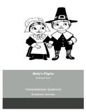 Mollys Pilgrim by Barbara Cohen Comprehension Questions
