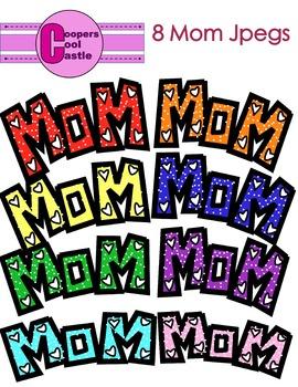 Mom (Digital Clip Art)