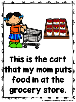Mom Is Going To The Store (A Sight Word Emergent Reader and Teacher Lap Book)