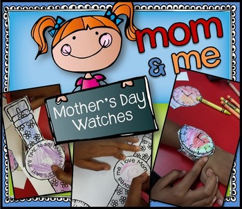 Mom & Me Mother's Day Watches craft