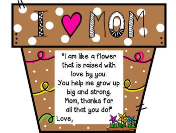 Mom, You Help Me Grow!