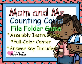 Money file folder games teaching resources teachers pay teachers mom and me counting coins file folder games fandeluxe Gallery