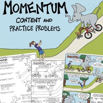 Momentum Comic and Practice Problems