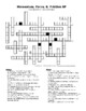 Momentum, Force, and Friction Crossword Puzzle (Newton's Laws)