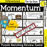 Momentum Puzzle Matching Review Game - Forest Detective Theme