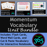 Momentum Vocabulary Unit Bundle