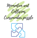 Momentum and Collisions Cross-number Puzzle