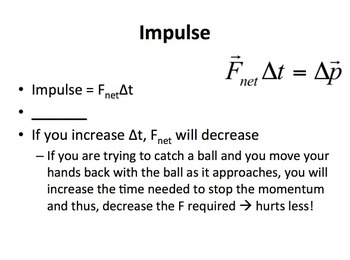 Momentum and Impulse - A Physics PowerPoint Lesson Package