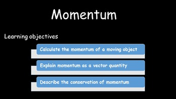 Momentum - with fun practical included
