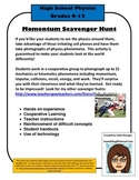 Momentum,Collisions, and Energy Scavenger Hunt - Physics