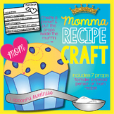 Momma Muffin or Cupcake Mother's Day Recipe Craft