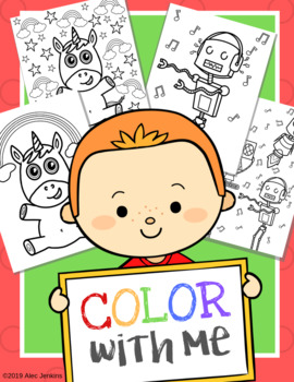 Mommy and Me / Daddy and me Coloring pages