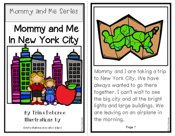 Mommy and Me In New York City: Mommy and Me Series {Transi
