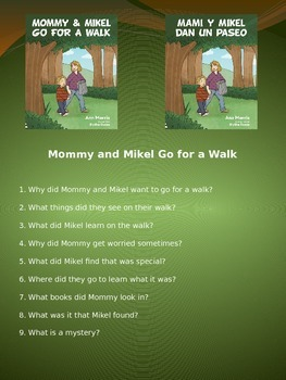Mommy and Mikel Go for a Walk discussion