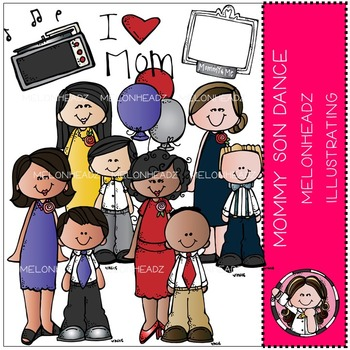 Mommy and Son dance by Melonheadz COMBO PACK