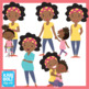Mommy or Mummy and Me, Mother's Day Clip-Art