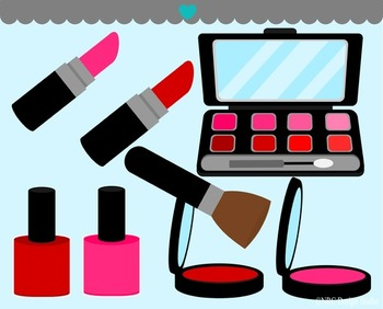 Makeup clipart commercial use