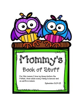 Mommy's Stuff Cover Page