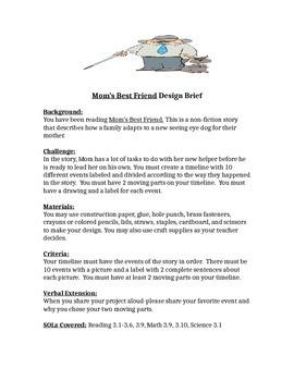 Mom's Best Friend STEM Design Brief for Children's Engineering