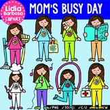 Mom's Busy Day {Clip Art for Teachers}