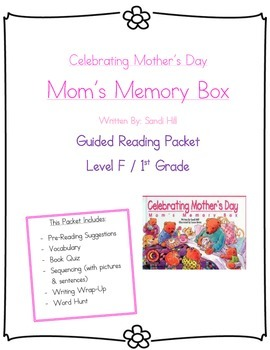 Mom's Memory Box- Guided Reading Packet