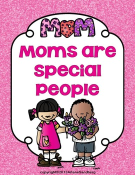 Mother's Day: Reading and Writing Unit K-1