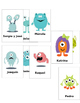 Monster Body Parts Guess Who review game- Partes del cuerpo