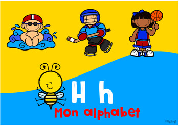 Mon Alphabet • Digital Task Cards in FRENCH