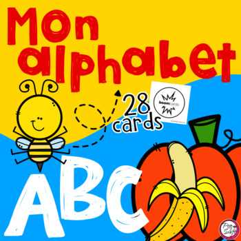 FRENCH BOOM CARDS • Mon Alphabet