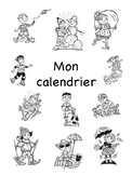 Mon Calendrier - French Personal Calendar Activity
