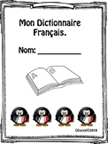Mon Dictionnaire Français - My personal French dictionary.